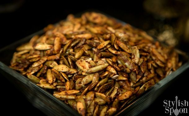 traditional toasted pumpkin seeds a stylish twist with a simple sweet ...