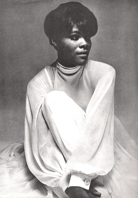 Vogue US June 1968  Dionne Warwick by Bert Stern