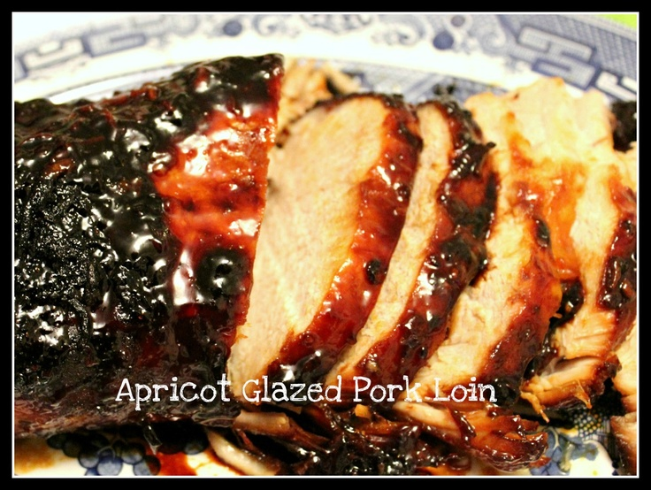 Sweet Tea and Cornbread: Slow Cooker Apricot Glazed Pork Loin!