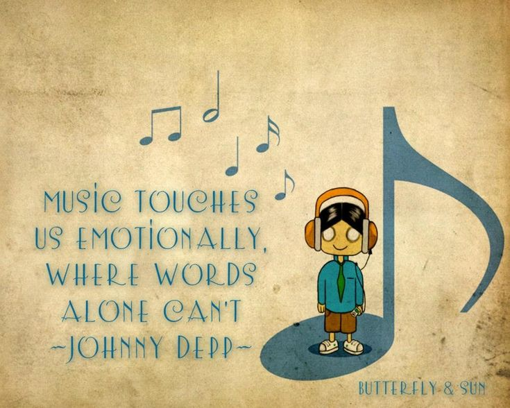 Johnny Depp Music Quote