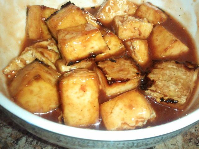 "Easiest"" Baked BBQ Tofu   Food is Good   Pinterest"