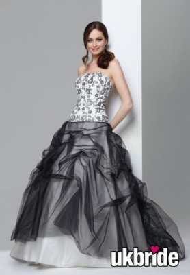 Black White Wedding Dresses Pinterest