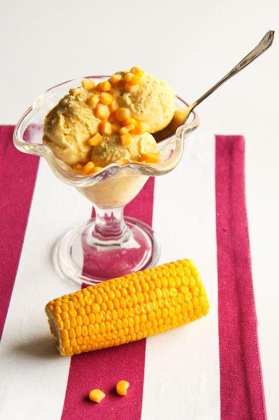 Sweet Corn Ice Cream   Edibles - sweet thangs   Pinterest