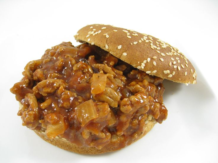 Skinny Barbecue Sloppy Joes with Weight Watchers Points | Skinny ...