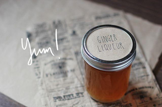 homemade Ginger Liquerur | foodz | Pinterest
