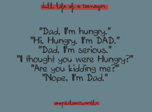 I've had many conversations like this with my dad. Lol gotta love it!