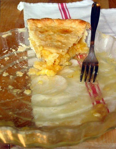 Recipe: Meyer Lemon Shaker Pie. Just got the first lemons off my meyer ...