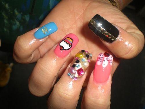 unique nail des... Unique Nail Designs Pinterest