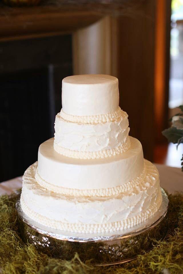 Simple White Cake | Wedding!! | Pinterest