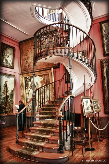 Staircase in Musée Moreau, Paris