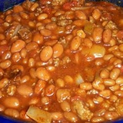 Texas-Style Baked Beans - Click image to find more Food & Drink ...