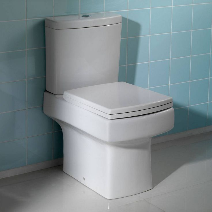 Comvictoria Plumb Bathrooms : Genoa Close Coupled Toilet inc Seat - Now £139. www.victoriaplumb.com