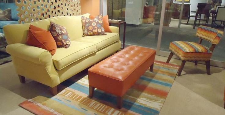 Norwalk Barton Sofa And Delray Ottoman Furniture We Carry Pinter
