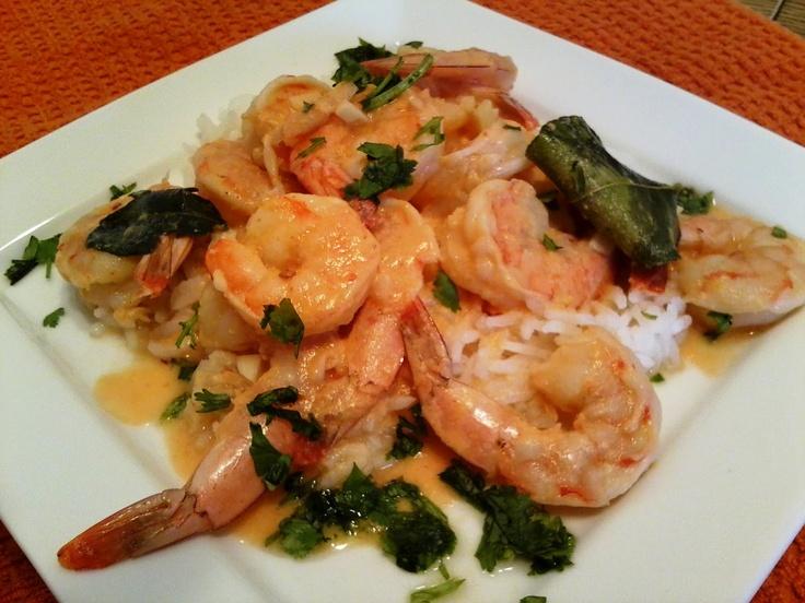 New York Foodie-Thai Lemon Shrimp