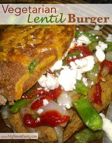 Healthy Vegetarian Lentil Burger Recipe That Doesn't Taste Healthy ...