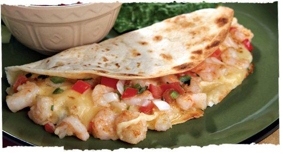 Shrimp Quesadillas | Life on the South Beach | Pinterest