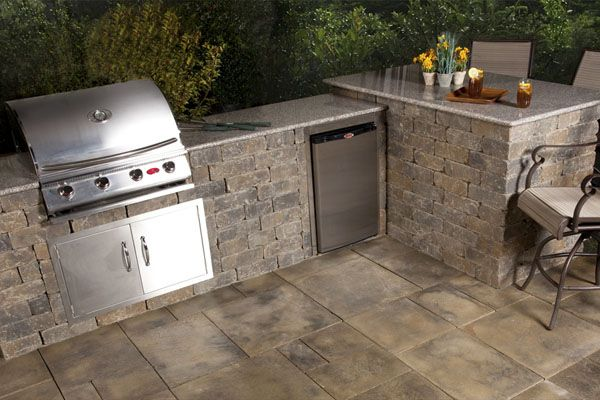 Comnew Homes Interiors : Modular Outdoor Kitchens : Best Outdoor Kitchen Modular