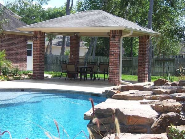 Pin by vernita mitchell on pools pinterest for Detached covered patio plans
