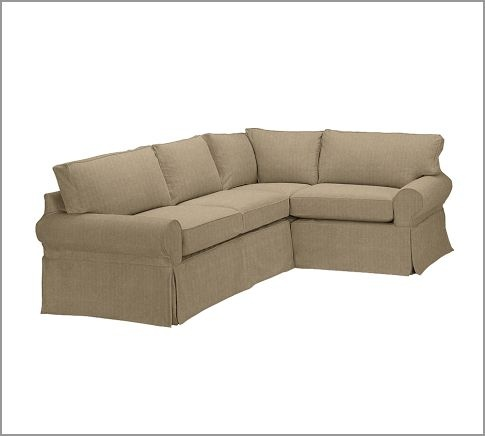 Details about Pottery Barn PB BASIC 3PC Sectional SOFA Slipcover Frompo