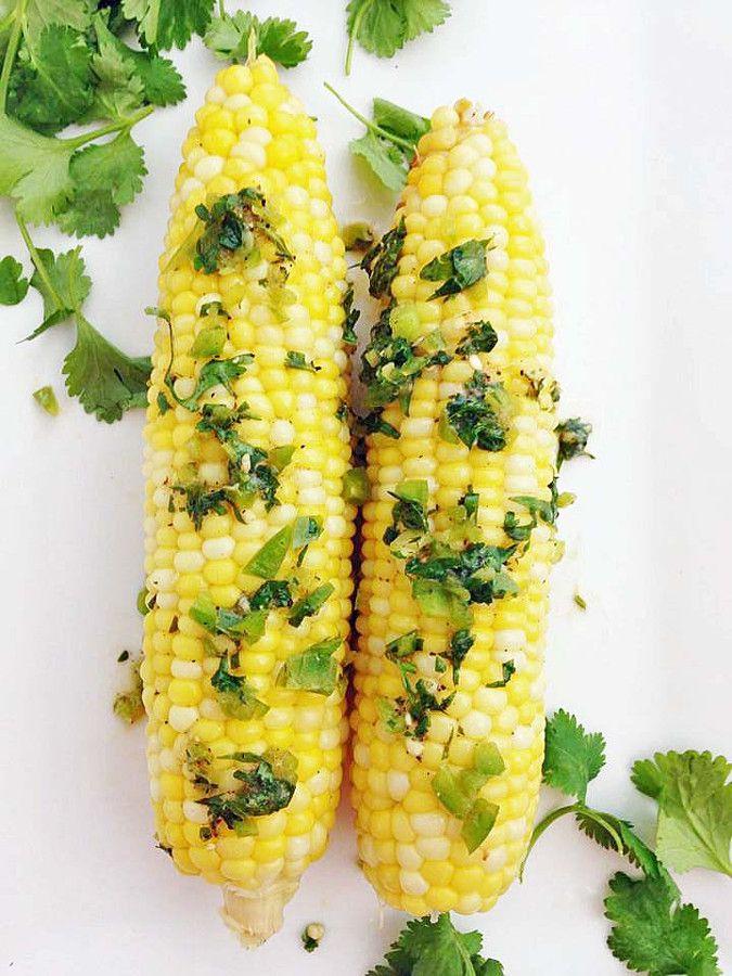 Cilantro Lime Jalapeno Corn | Delicious things | Pinterest