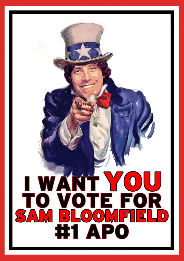 Uncle sam wants you poster template