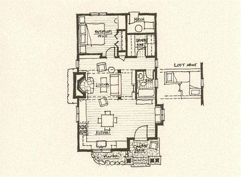 Storybook Cottage House Plans Exterior Pinterest