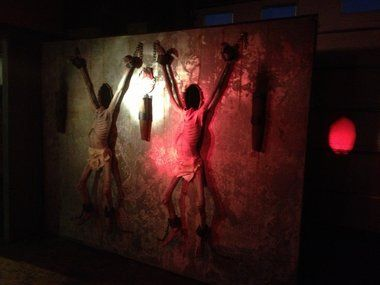 community hall haunted house ideas halloween pinterest