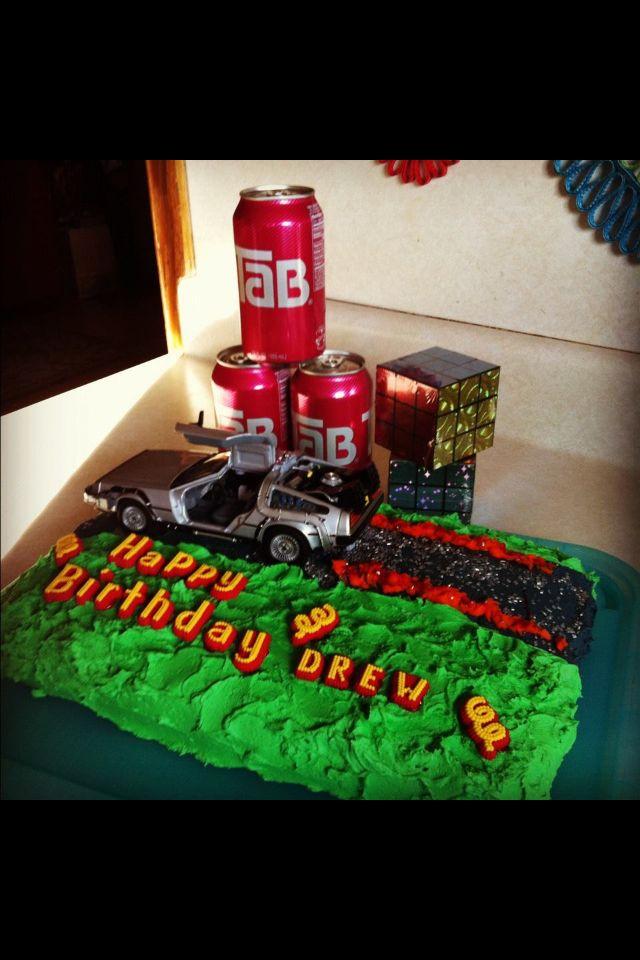 Back to the future birthday theme birthday party ideas pinterest