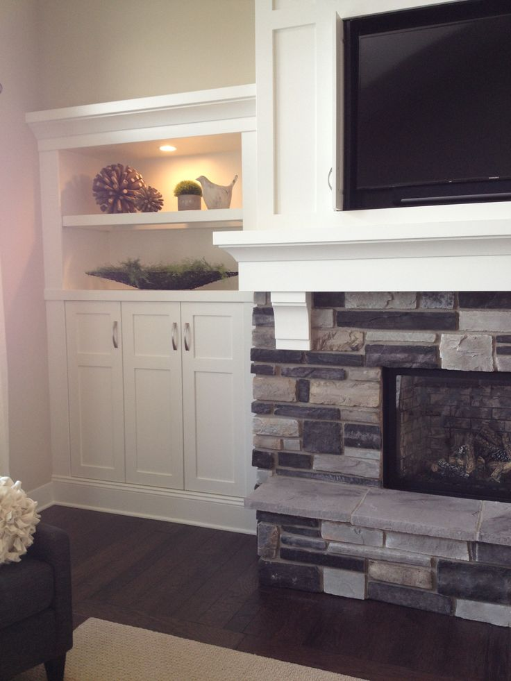 fireplace with built ins house ideas pinterest
