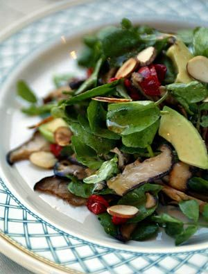 Recipe: Watercress and avocado salad with lemon-soy dressing
