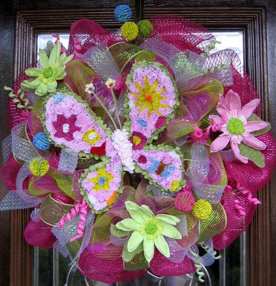 Spring wreath for How to make a spring wreath from scratch