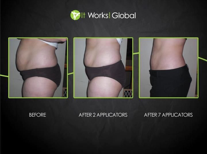 ItWorks Body Wrap Before After