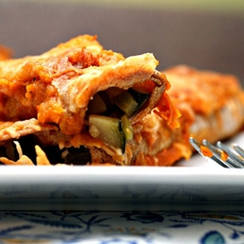 Zucchini Enchiladas | Main Attraction | Pinterest