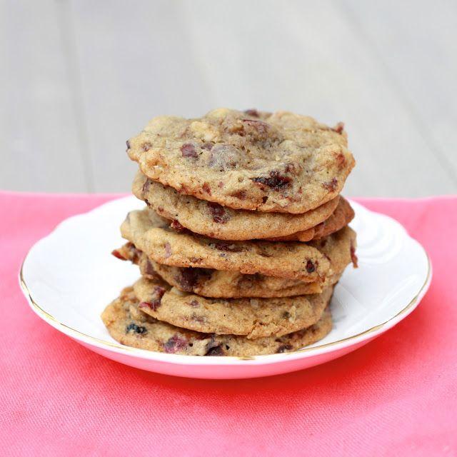 Vanilla-Cherry Walnut Chocolate Chip Cookies