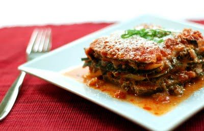noodle-less zucchini lasagna | Foodspiration | Pinterest