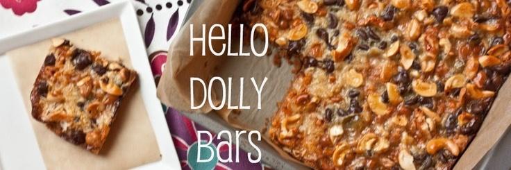 Hello Dolly Bars | Sweets | Pinterest