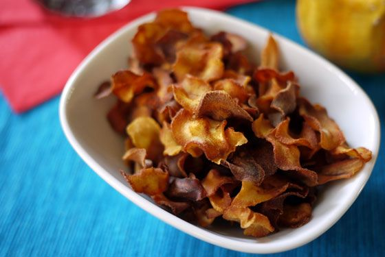 Smoky paprika parsnip chips-- can't wait to try these and the others ...