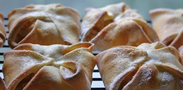 Apple Pie Pockets (homemade crust!) Ingredients: flour, yeast, sugar ...