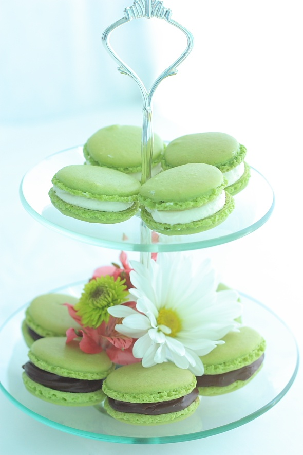 Green Tea Macarons | Matcha2 | Pinterest