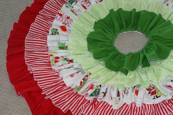 Ruffled Tree Skirt | Prudent Baby