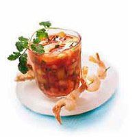 Shrimp-Fruit Gazpacho | Recipe