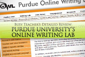 The Purdue Online Writing Lab (OWL) offers over 200 FREE resources ...