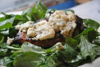 Herbed balsamic chicken with blue cheese | Food! | Pinterest