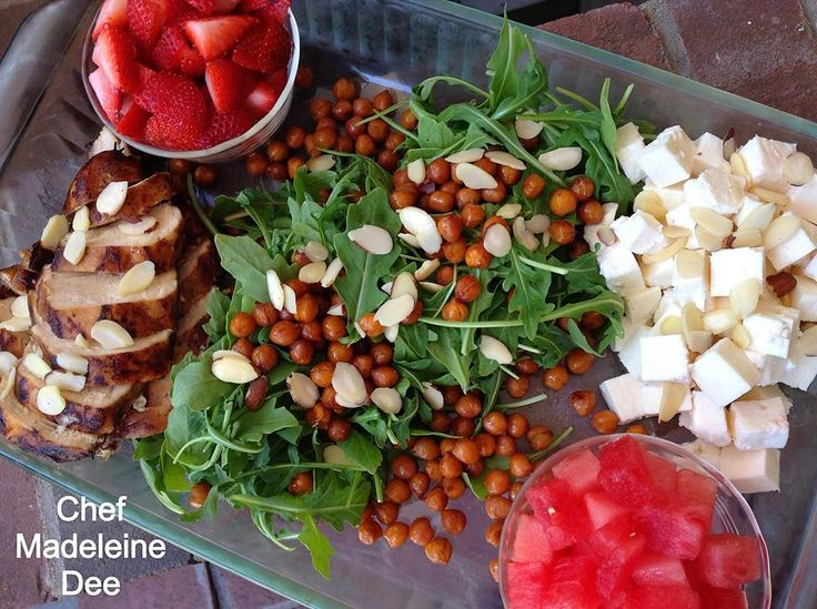 Arugula And Roasted Chickpea Salad With Feta Recipes — Dishmaps