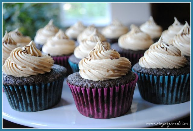 Chocolate Biscoff Cupcakes | Cupcake | Pinterest