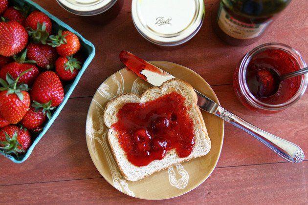 Strawberry Balsamic Jam | Recipe