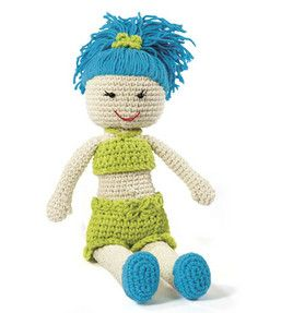 Fun in the sun doll :) Ready for summer! #crochet