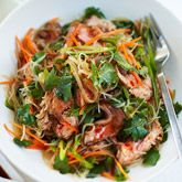 spicy beef amp noodle salad coles recipes amp cooking added fresh mint ...