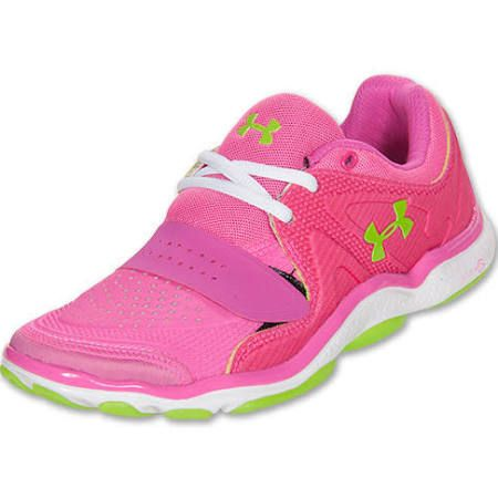 under armour toe running shoes -size 7