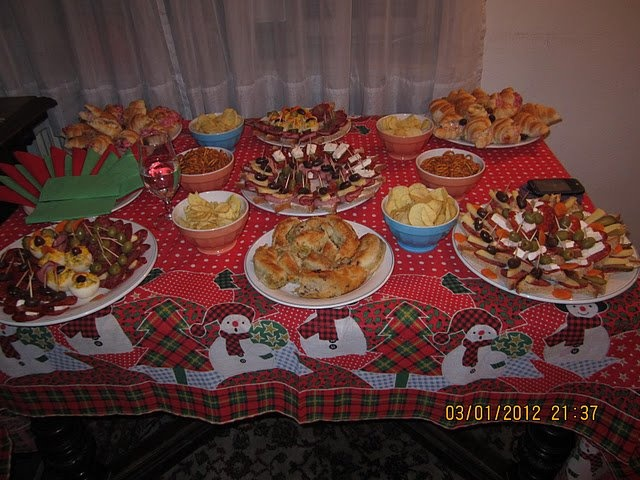 Birthday party finger food
